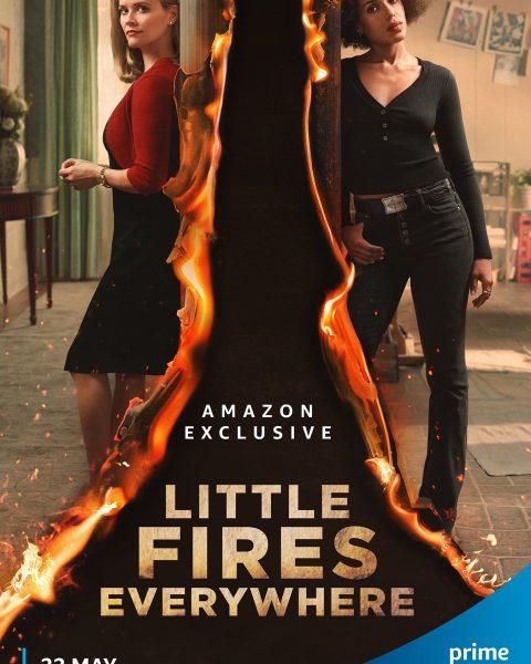 Portada de la serie Little Fire Everywhere